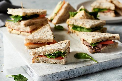 Classic sandwich platter