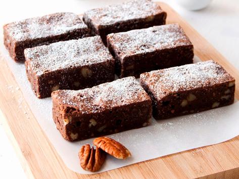 Brownie platter (8 slices) : $39.90