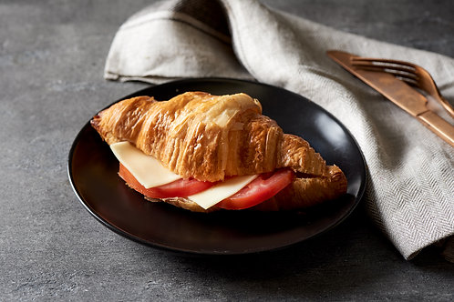 Cheese and tomato croissant (mini and large option)
