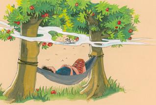 Apfelbaum Traumszene