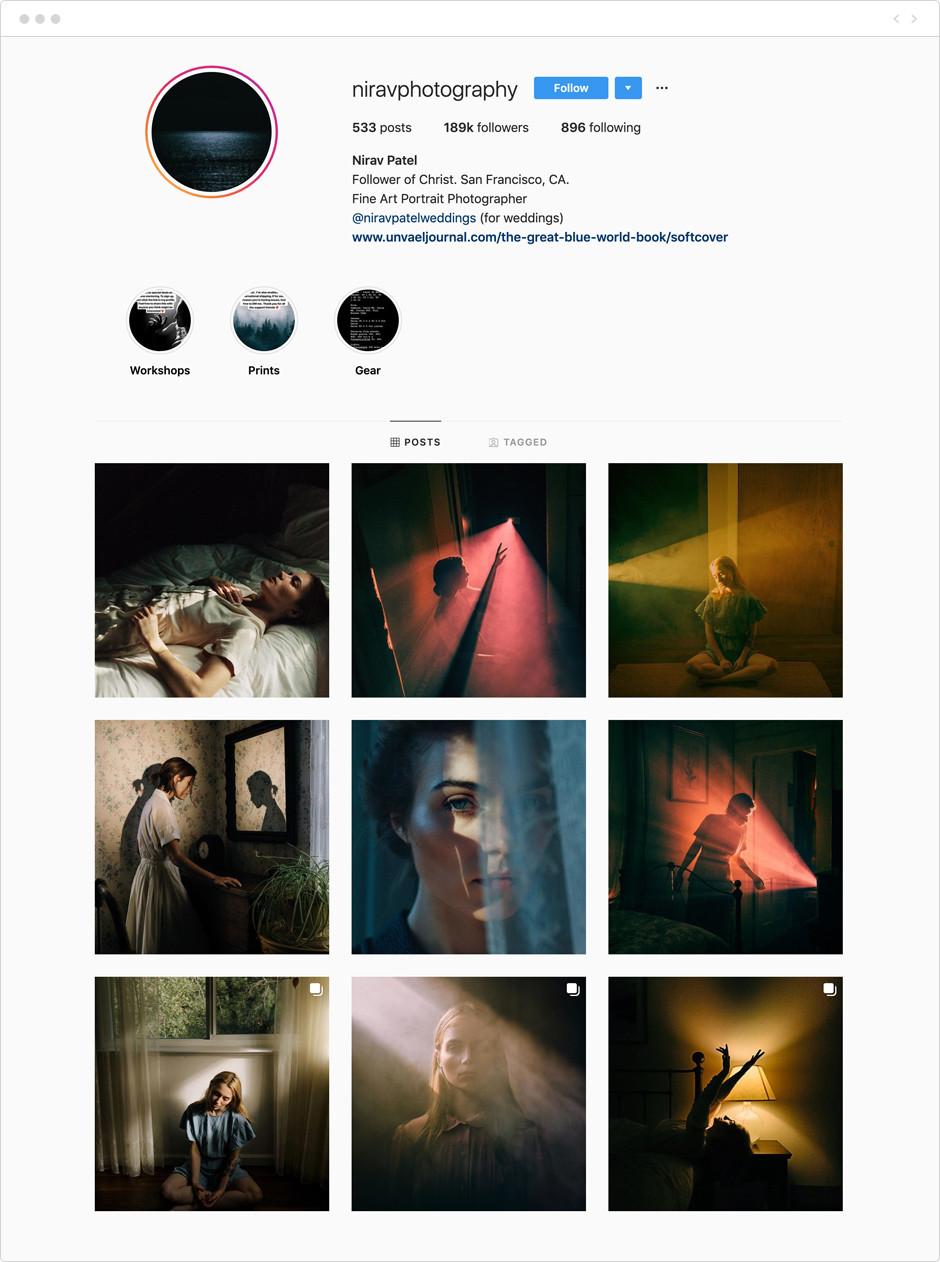 Nirav Patel - Photographes à suivre sur Instagram