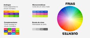 Esquemas de cores