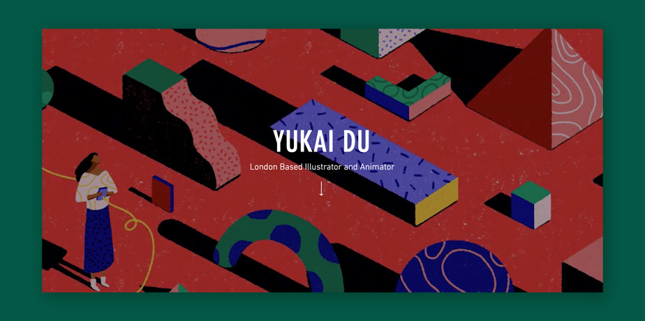 Best website design by Yukai Du