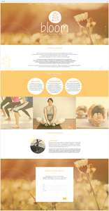 Bloom Pilates Site Wix