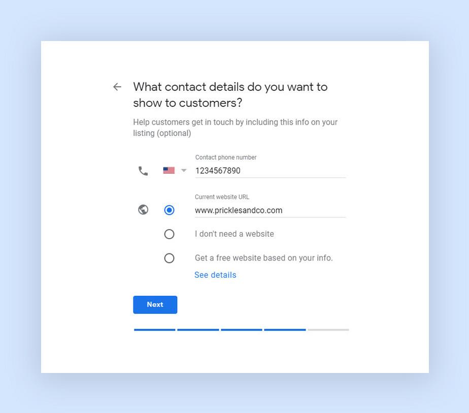 Как добавить сайт в Google My Business