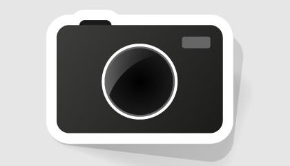 Ilustración de una cámara fotográfica