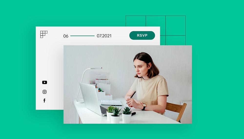 cómo crear un webinar