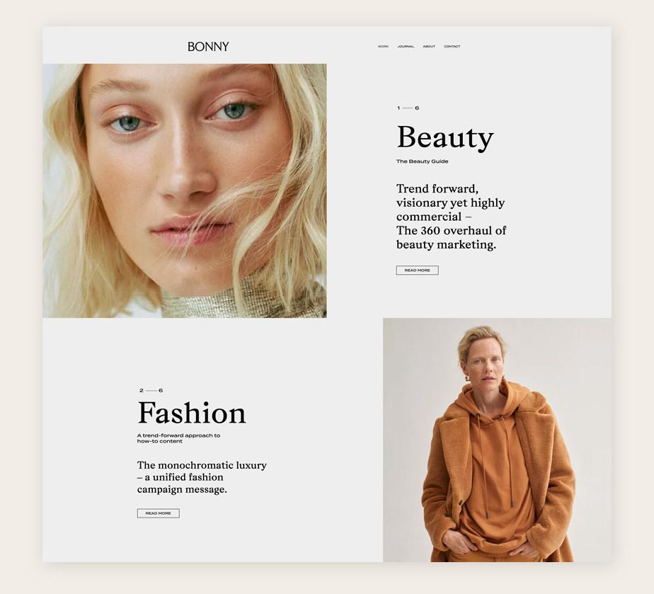 Best website design by Studio Bonny