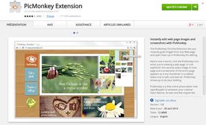 PicMonkey Extension ChromeWebStore