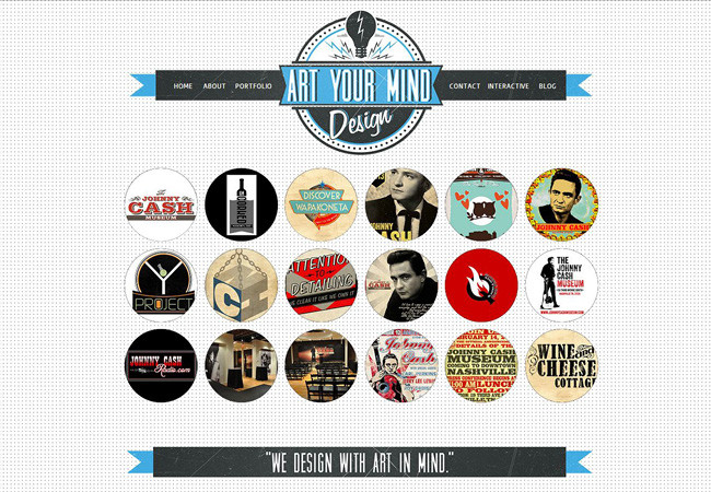 Página web de Art Your Mind Design