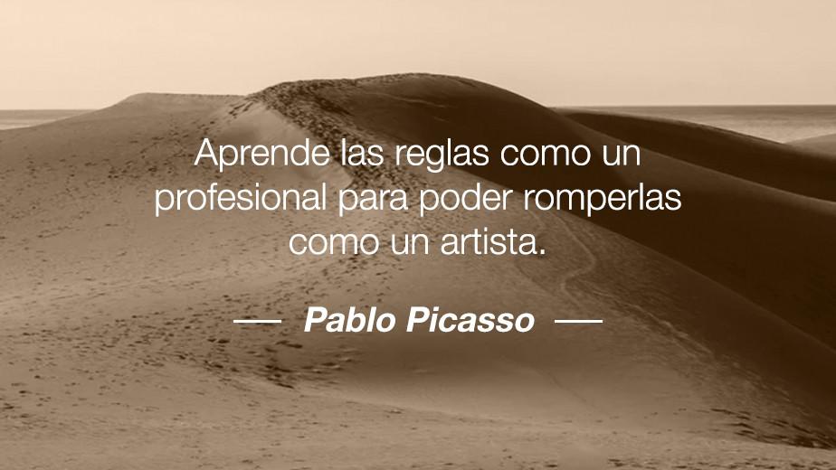 Frase de Pablo Picasso