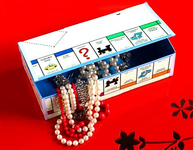Jeu monopoly - papier cadeau