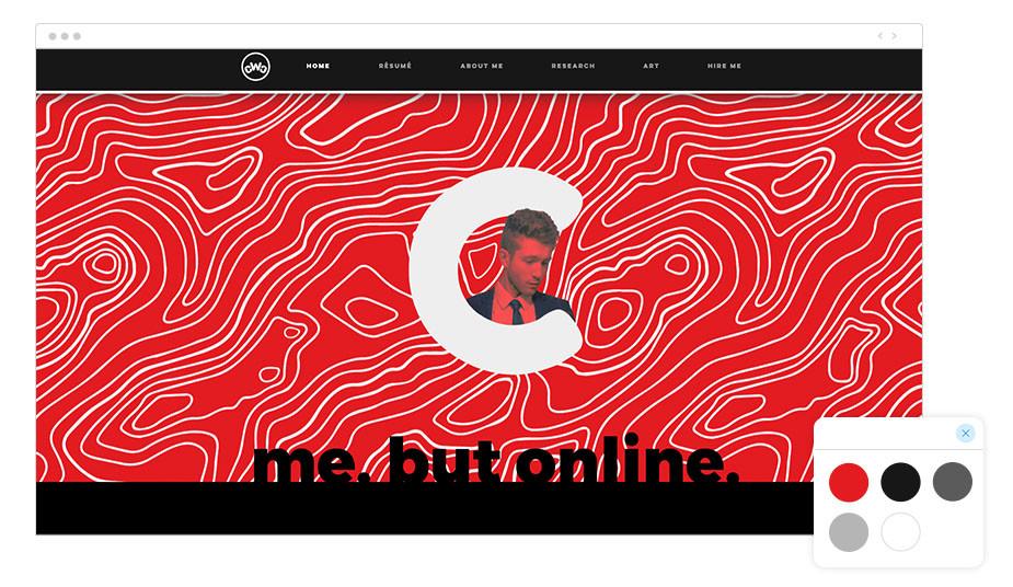 CV online Wix