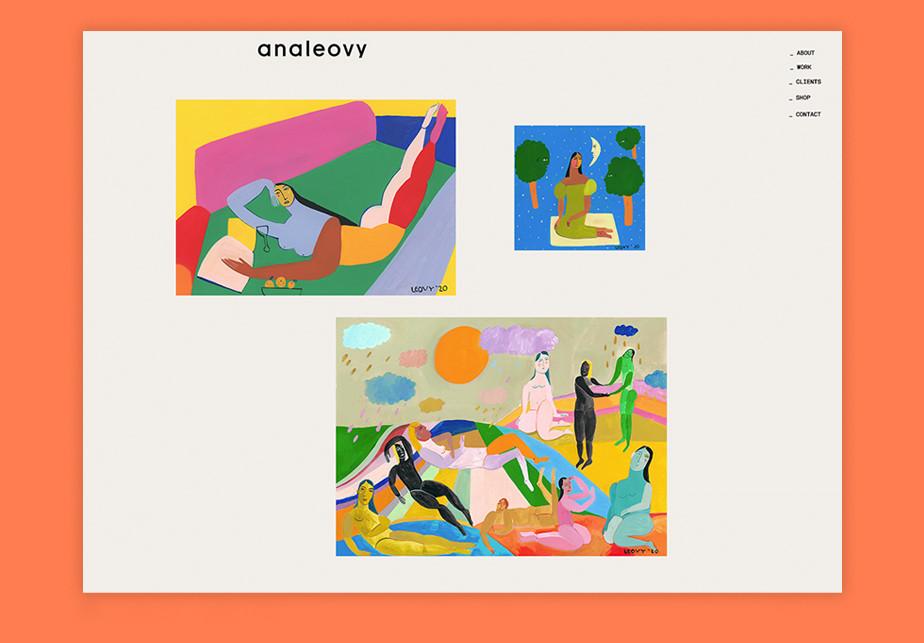 Ana Leovy illustration portfolio
