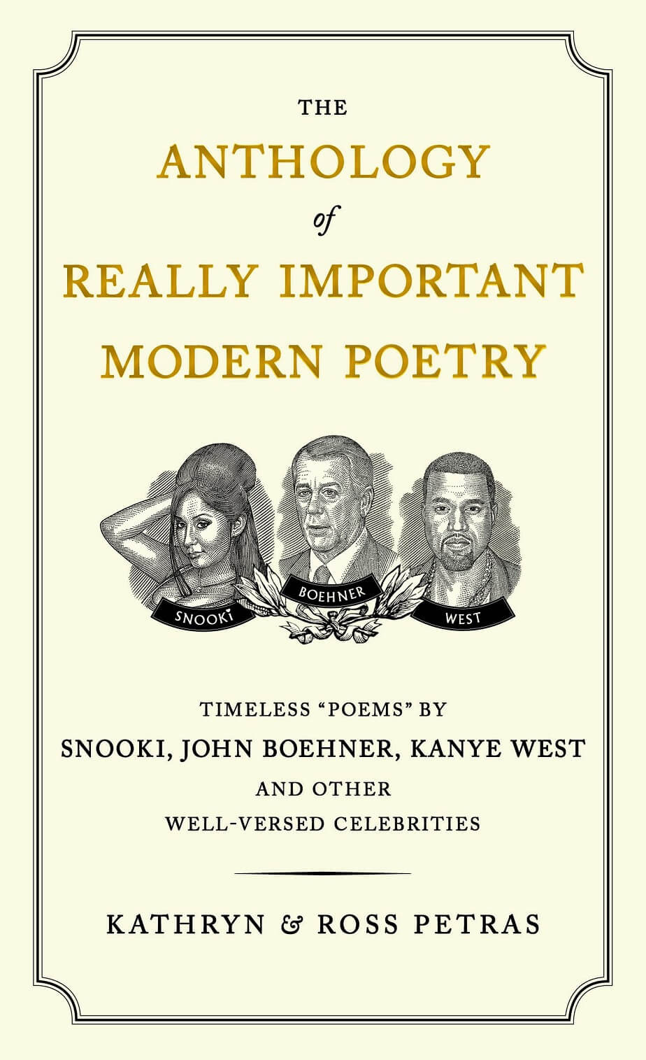 The Anthology of Really Important Modern Poetry by Kathryn & Ross Petras