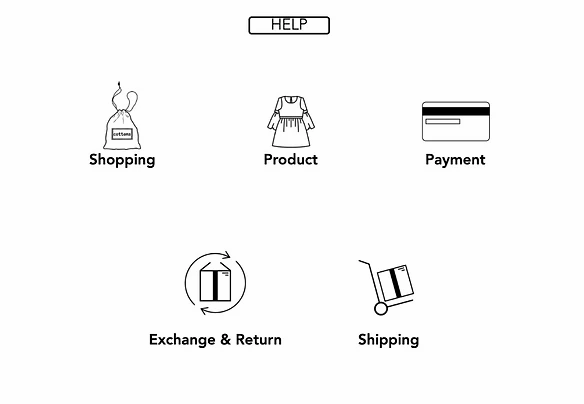 e-ticaret sitesi kurallar ve politikalar bölümü