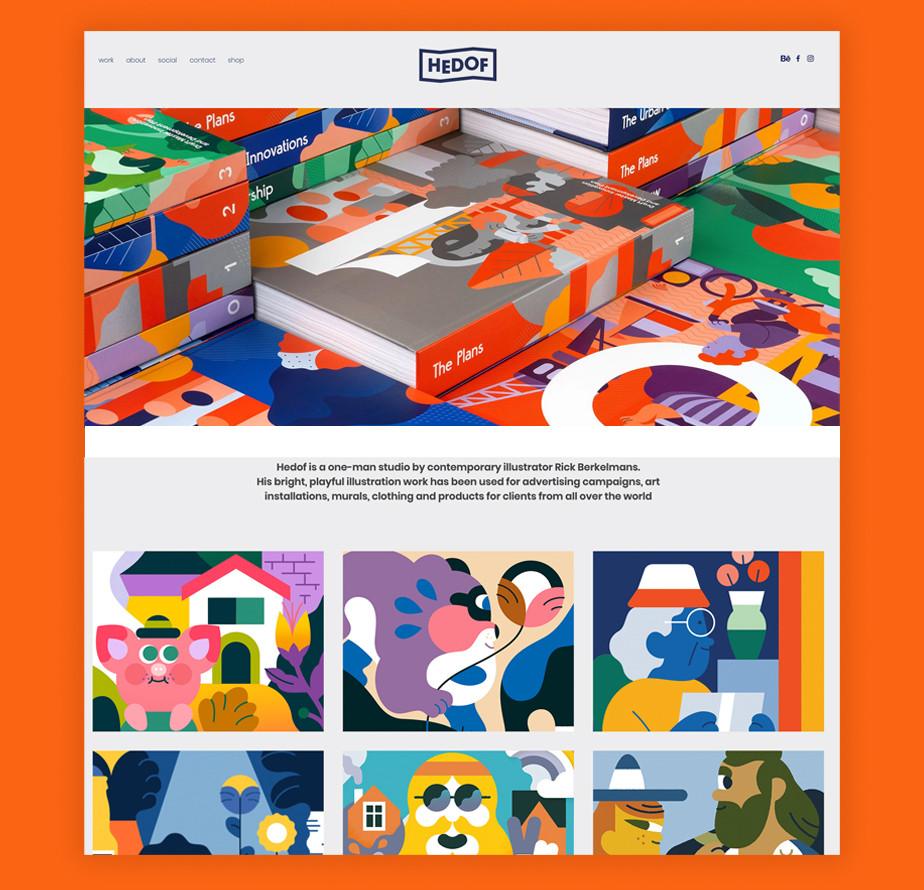 Hedof illustration portfolio