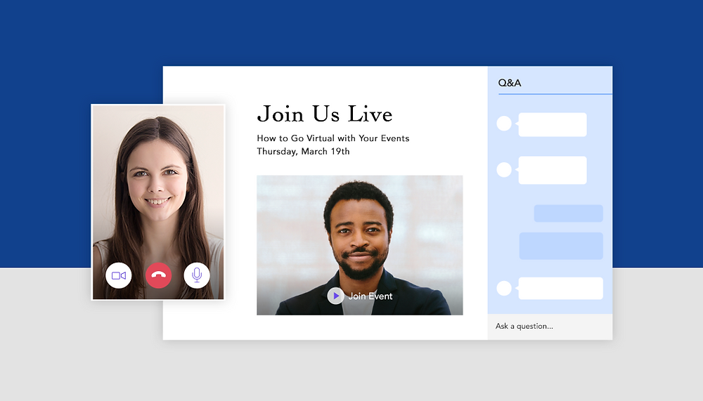 오프라인 이벤트를 온라인 이벤트로 진행하는 방법
