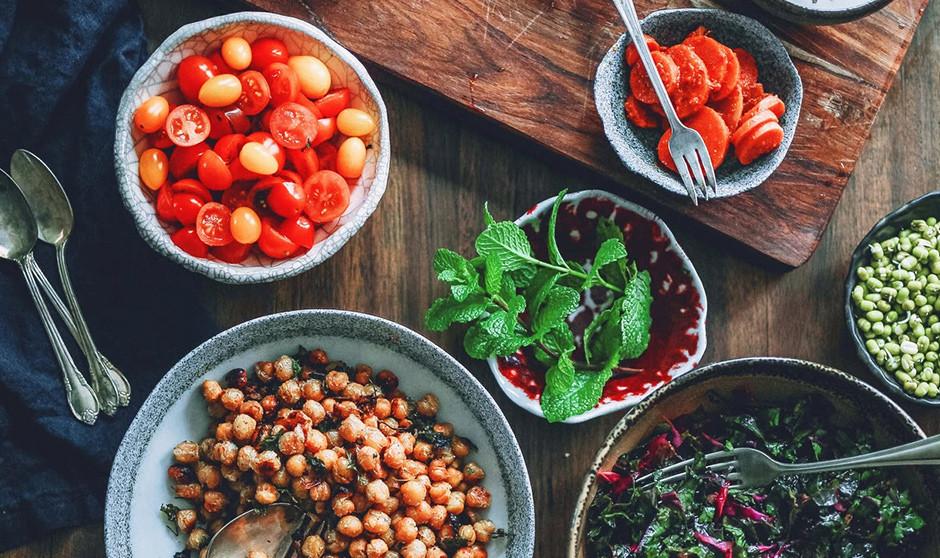 Fotografía de alimentos mediterráneos
