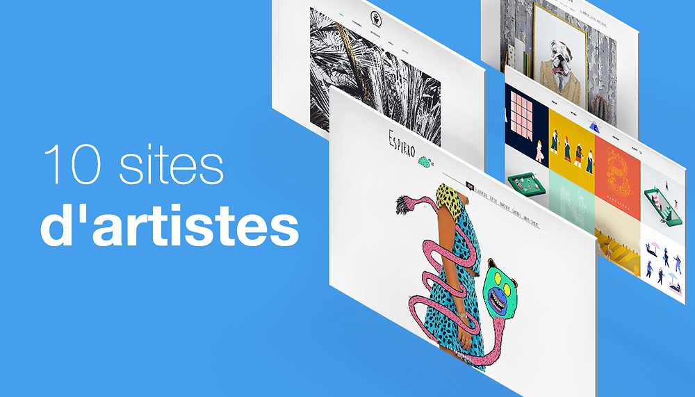 10 sites d'artistes et d'illustrateurs qui nous inspirent