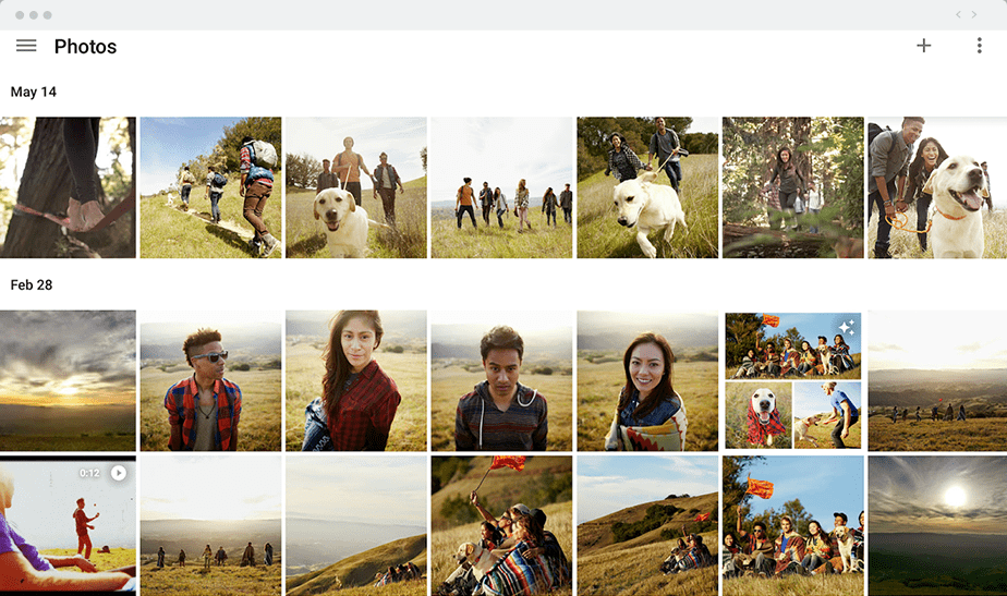 Stockez vos images avec Google Photos
