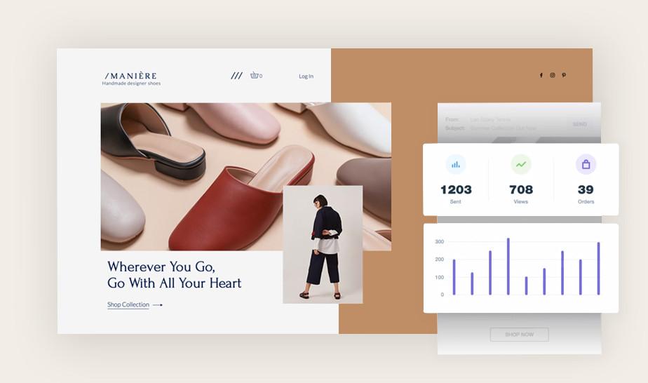 Campaña de email marketing con analíticas
