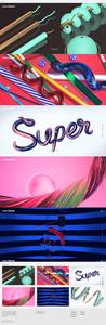 Template Wix Portfólio de Designer 3D