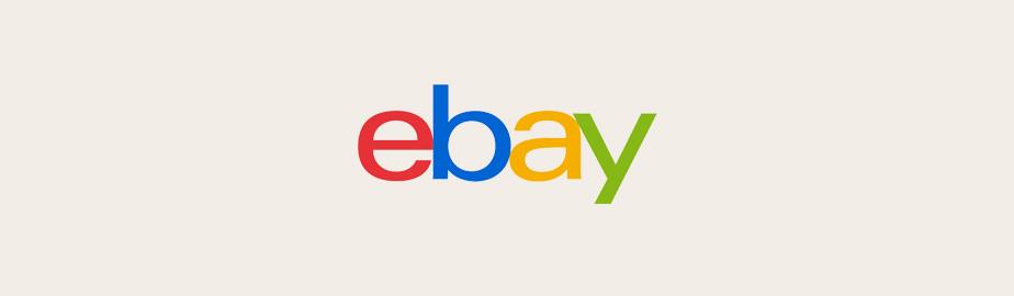 Das eBay Logo als Beispiel für ein modernes Logo