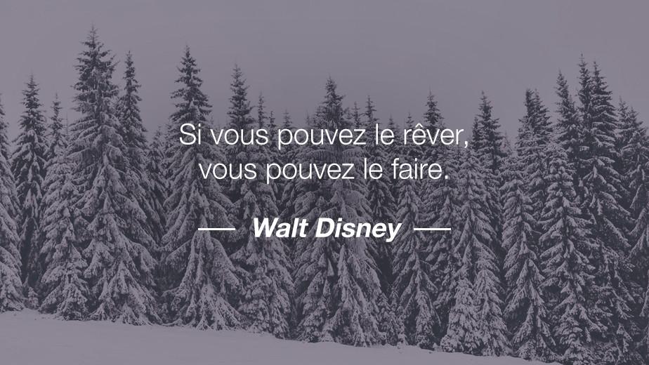 Citation Walt Disney