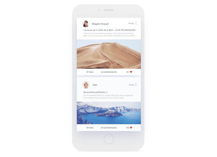 Wix Forum sur mobile