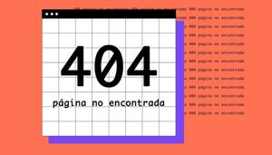 Ejemplos de páginas de error 404