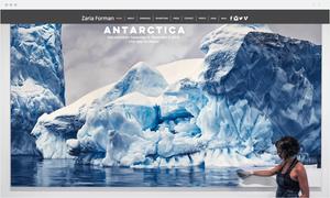 Zaria Forman Wix website