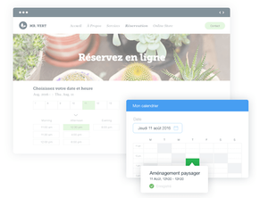 wix bookings réservation et paiement en ligne