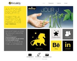 Directeur Artistique Freelance Paris   Antoine PROFFIT   Freakly