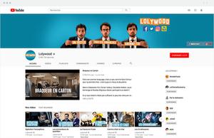 La page Youtube Lolywood