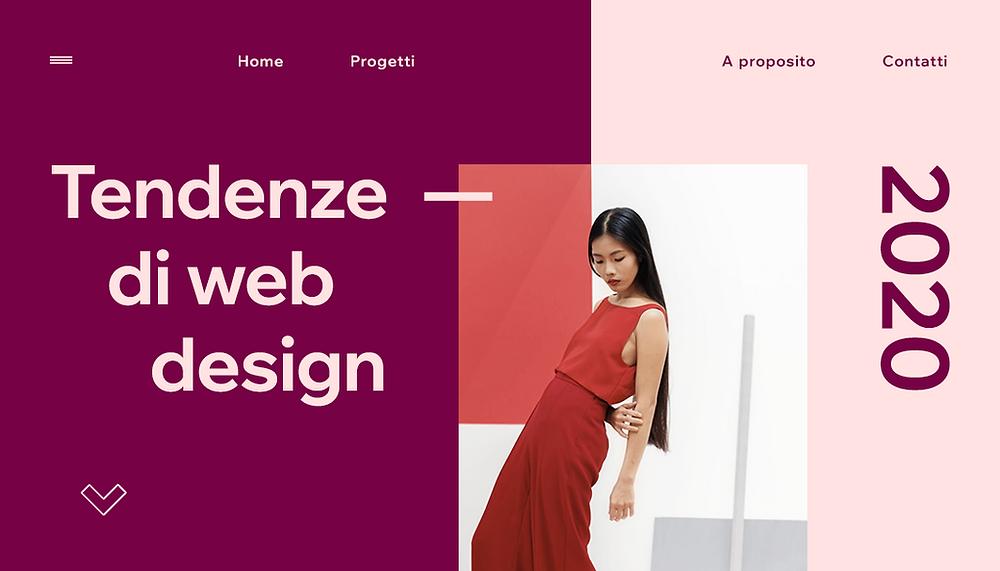 Tendenze di web design