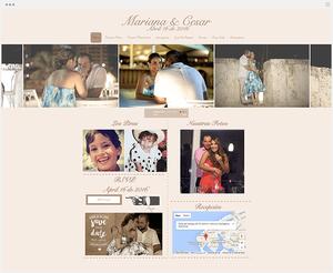 Mariana y Cesar   Página Web de Bodas