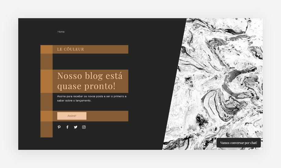 Sobre layouts de site: padrão F
