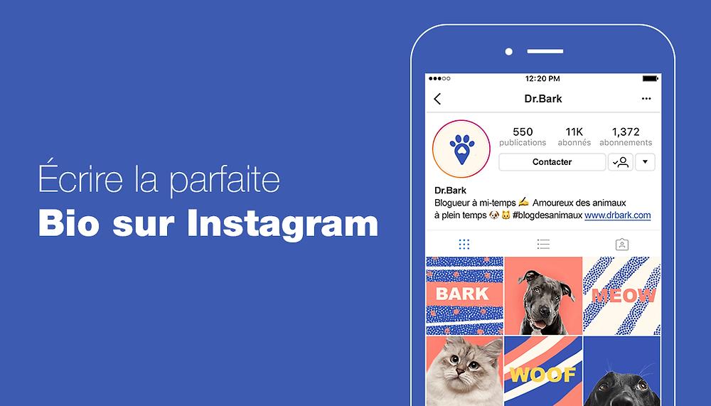 Comment rédiger la parfaite bio Instagram pour votre entreprise ?