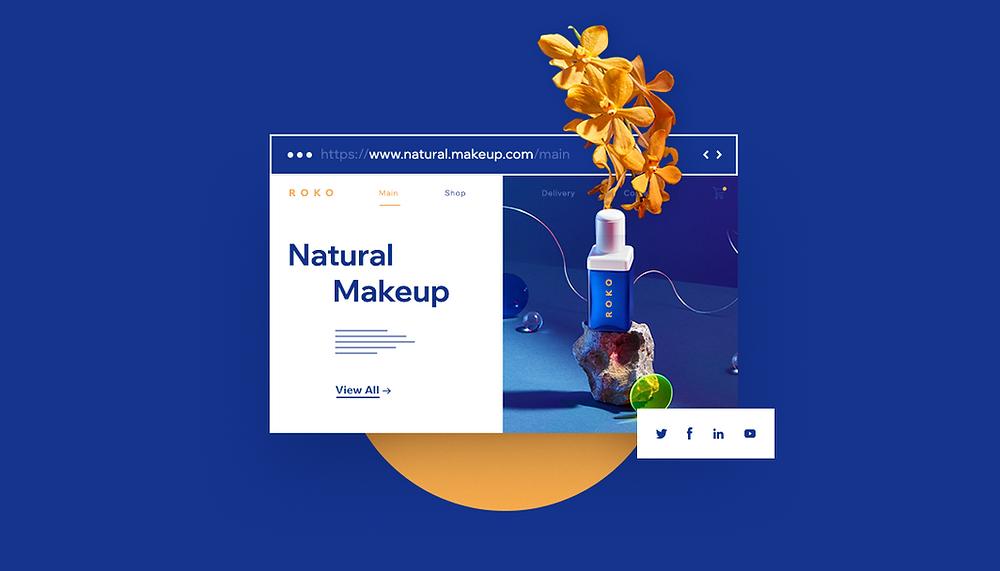 Ausschnitt einer Website mit einer erfolgreichen Produktkategorie