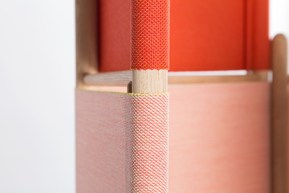 Loom Bound space divider by Rive Roshan