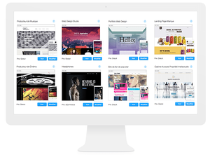 Templates WIx Long scrolling