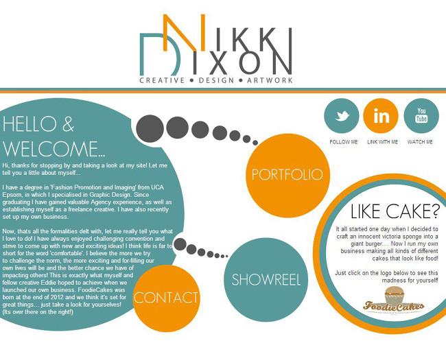 Página web de Nikki Dixon