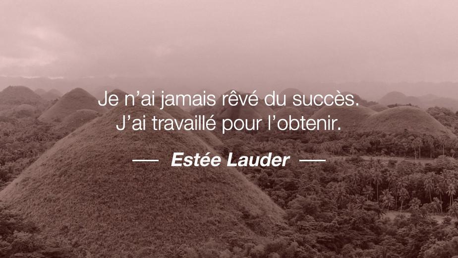 Citation Estée Lauder