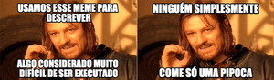 Como usar memes: One does not simply