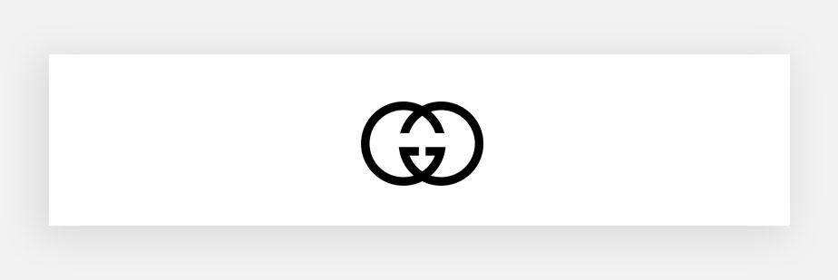 Примеры известных логотипов: Gucci