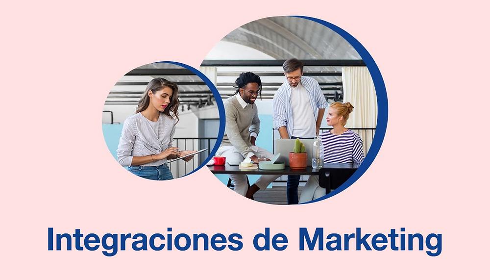 Lista de integraciones de marketing para páginas Wix