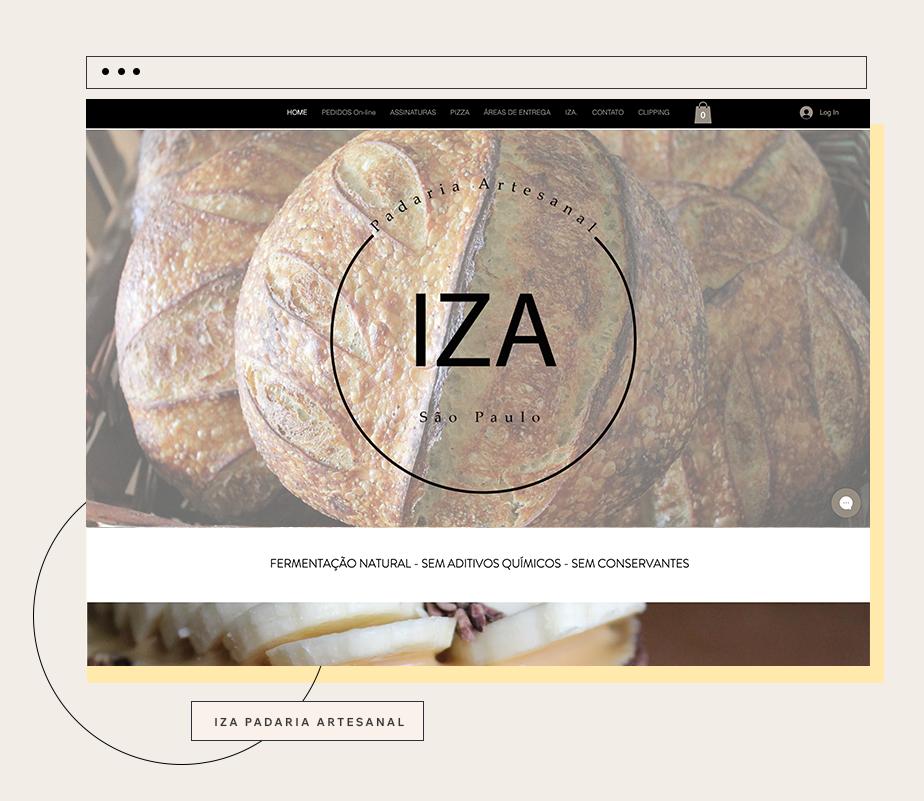 Case de sucesso da loja virtual uma das nossas usuárias empreendedoras: Iza Padaria Artesanal por Izabela Tavares