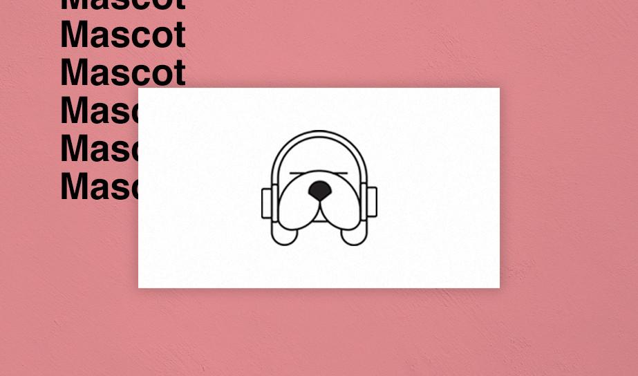 Mascot logo example