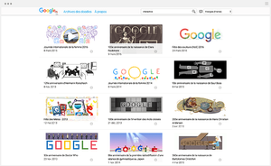 Google Doodles enfants
